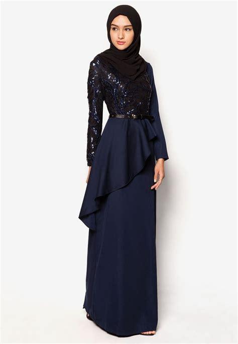 Baju Muslim Wanita Maxy Dress Brocade Combi Dress Brocade Maxy buy zalia wrap cascade sequin maxi dress zalora
