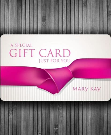 Mary Kay Gift Cards - blank gift cards mary kay pinterest