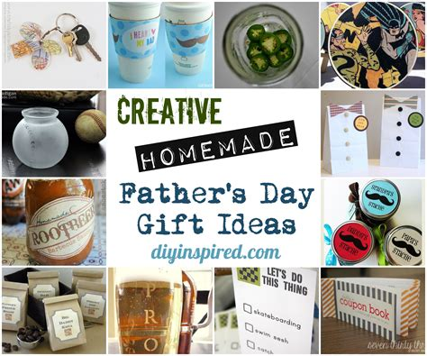 Handmade Fathers Day Presents - creative father s day gift ideas diy inspired