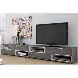 meuble television design meuble tv design tiago une exclu atylia couleur gris mati 227 168 re mdf tous les produits prixing
