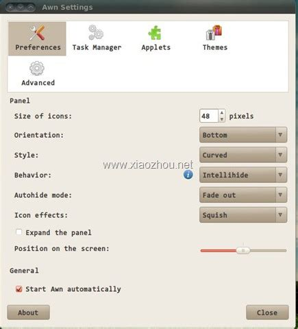 ubuntu awn ubuntu awn ubuntu下的一款dock工具 awn 爱程序网