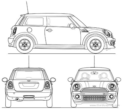 mini car coloring page mini cooper concept coloring pages
