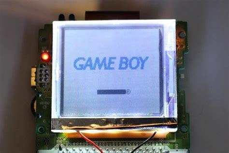 gameboy color frontlight boy color frontlight held legend held