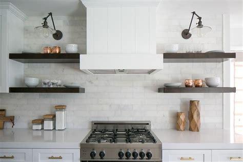 White Kitchen Shelf by Marble Kitchen Shelves Kitchen Cameron