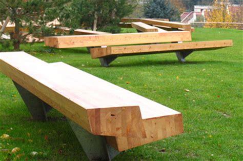 landscape forms benches trapecio bench