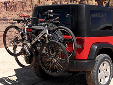 Mopar Jeep Bike Rack by Bike Rack Bicycle Carrier Spare Tire Mount Jeeps Are Us