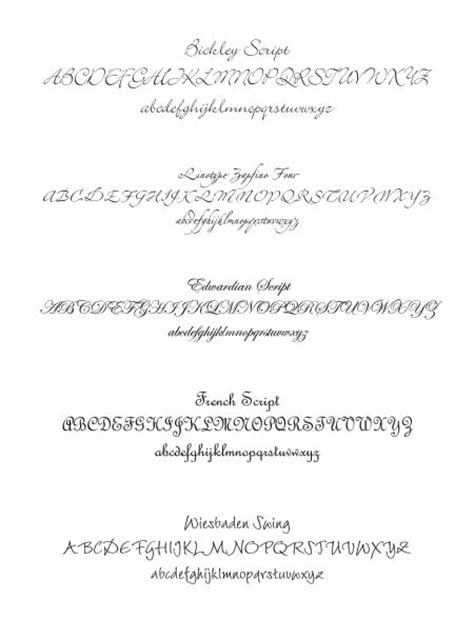 Wedding Font Serif by Wedding Invitations Fonts