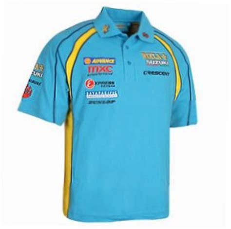 Suzuki Merchandise Uk Superbike Merchandise Rizla Suzuki Replica Team Polo Shirt