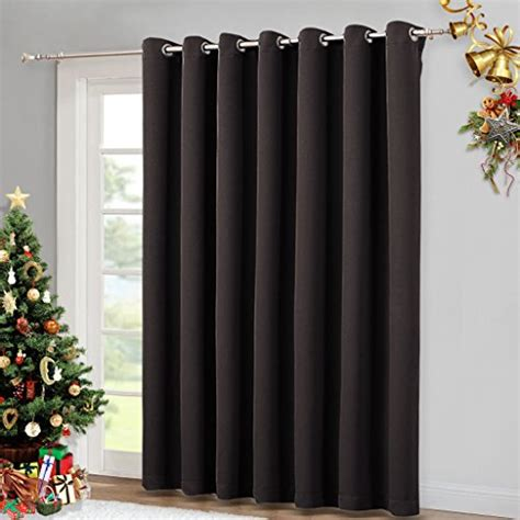 patio door thermal curtains wide width patio doors blinds thermal blackout patio
