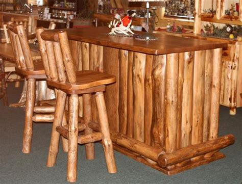 cedar log quilt bench in storage benches log dining furniture