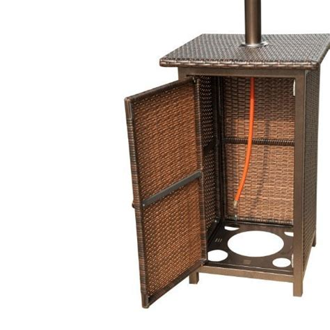Patio Heater With Rattan Base The Barbecue Store Spain Rattan Patio Heater