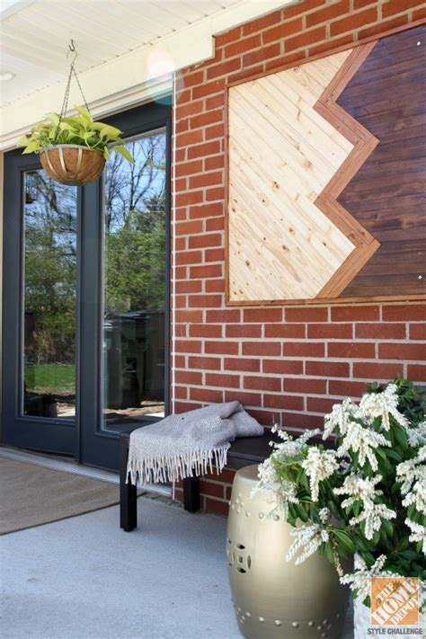 diy wall art projects   outdoors