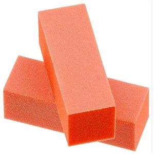Uv Block 180 100 180 orange nail buffer block
