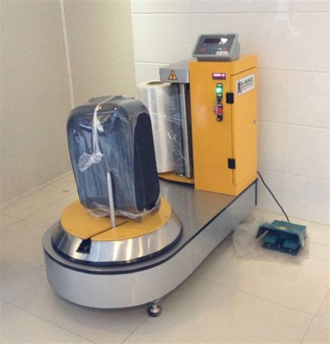 Mesin Wrapping china brand airport luggage wrapping machine