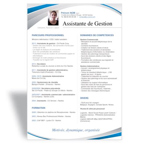 Modele De Cv Word Original