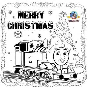 thomas christmas coloring sheets children printable pictures train thomas tank engine