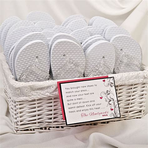 wedding box of flip flops why flip flops are the new must wedding accessory