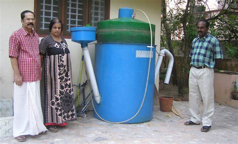 small scale biogas design build a biogas plant home