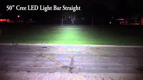 Led Light Bar Comparison Led Light Bar Vs Led Curved Light Bar Comparison