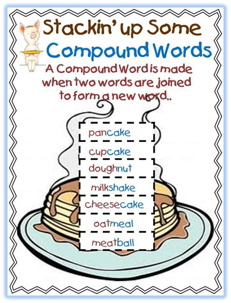 christmas compound words worksheet compoud word mini unit using laura numeroff s quot if you