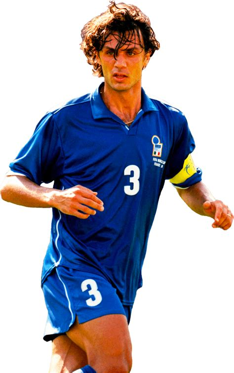 paolo maldini football render  footyrenders