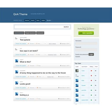 wordpress theme question answer great wordpress question and answer plugins reviewed