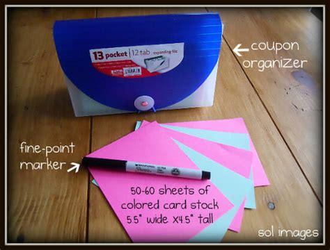 organization labels your file folders coupons binders organized coupons andrea dekker