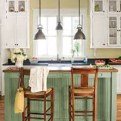 cottage casual island stylish functional kitchen islands southern living