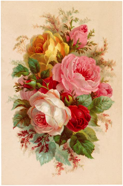 vintage roses beautiful varieties beautiful vintage roses bouquet image vintage roses graphics fairy and rose bouquet