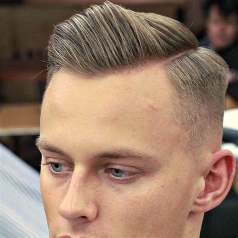 fade haircuts both sides hairstyles which side should i part my hair men s hairstyles