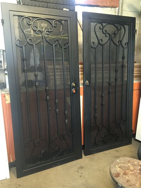 Iron Works Doors by Iron Screen Doors Iron Works In Carson