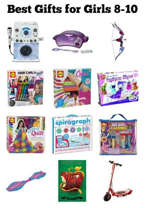 best gifts for 8 10 year old girls