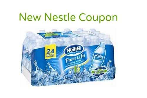 nestle pure life water coupons cvs