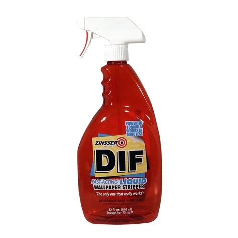 Dif Fast Acting Wallpaper Remover zinsser 32 oz dif fast acting wallpaper remover spray