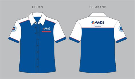 Kaos Baju T Shirt Officer sribu office clothing design seragam kemeja amg