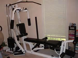 Pec Tear Bench Press Parabody Serious Steel 400 Home Gym Original Paperwork
