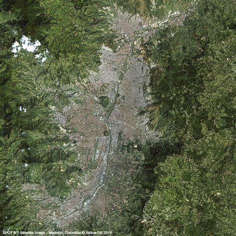 imagenes satelitales spot imagen sat 233 lite spot 6 7 medell 237 n colombia airbus
