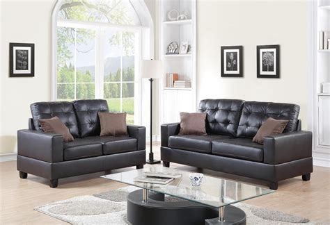 comfy couch co reviews p7857 sofa loveseat 7857 poundex leather sofas at