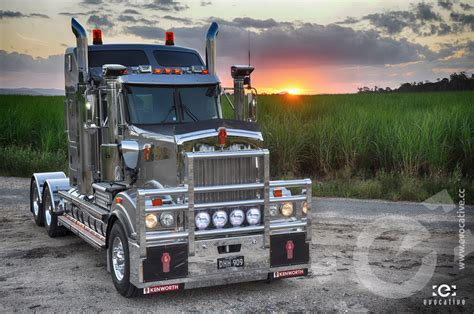 ken worth kenworth t909 director series photoshoot evocative