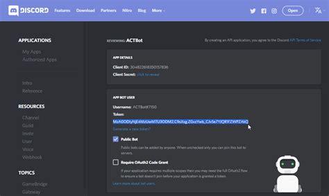discord setup first time setup guide 183 makar8000 act discord triggers