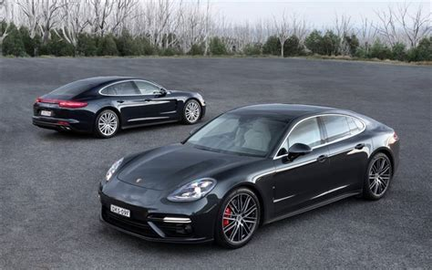 porsche 2017 4 door wallpapers porsche panamera 2017 front view