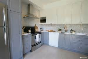 Images Of White Kitchens With White Cabinets notre cuisine avant apr 232 s d 233 conome