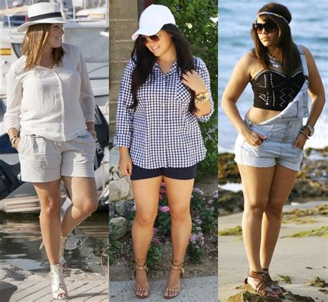 Style Ideas: Plus Size Fashion Shorts for Different Occasions   Gorgeautiful.com