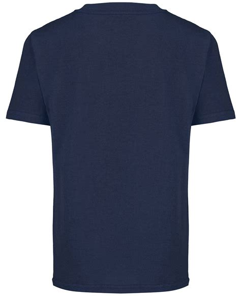 Navy Tshirt boys navy blue official wars empire panel t shirt