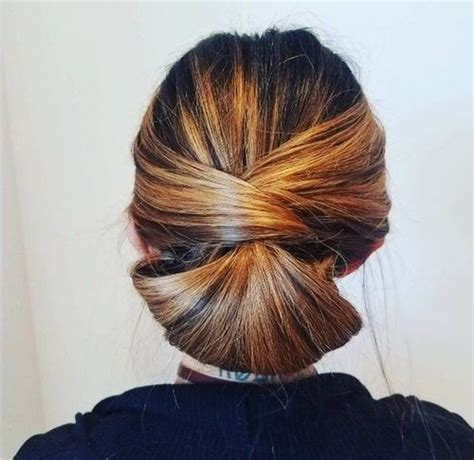 medium length hairstyles for fine hair updo 60 easy updos for medium length hair