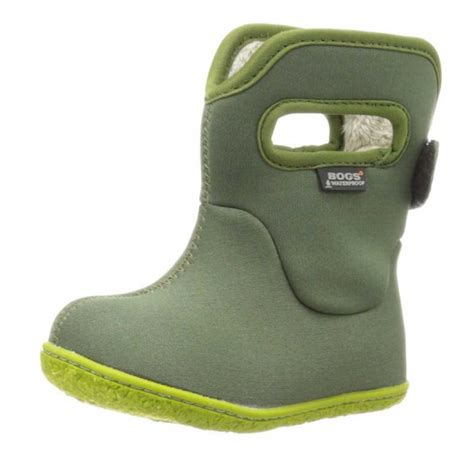 bogs baby classic solid waterproof boot toddler