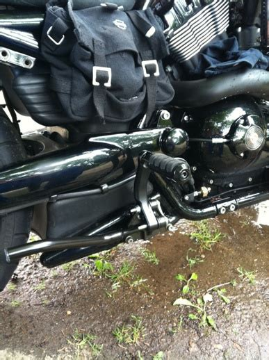 Harley V Rod Tieferlegung by Vrscd X Rod Sp Sozius Fu 223 Rasten Tieferlegen S