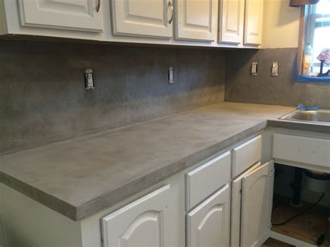 Ardex Countertop by Henry Feather Finish Diy Countertop Decor Bathroom