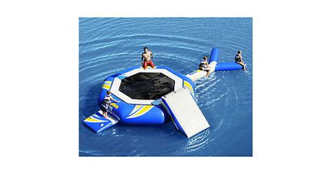 aquaglide platinum water trolines aquaglide platinum supertr 17 foot water troline 2015