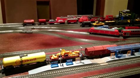 youtube h0 layout my first m 228 rklin h0 layout update 11 2016 youtube